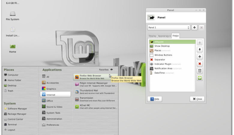 Linux Mint 13 MATE