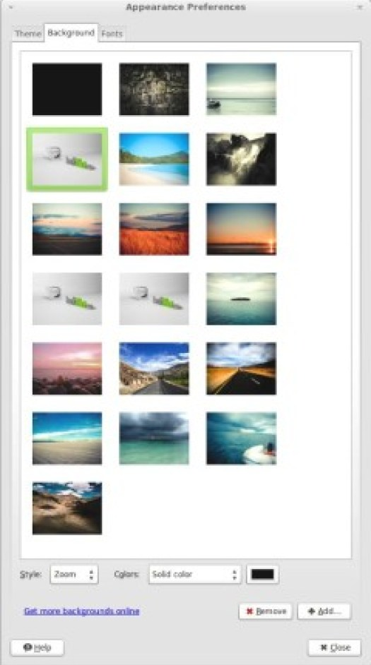Linux Mint 13 Backgrounds