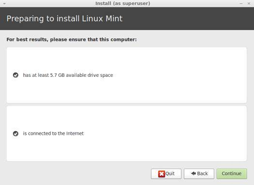 Prepare for Linux Mint 13 Install